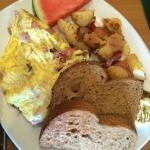 Wonderful breakfast at Swami's Cafe