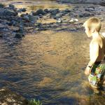 Easy for kids to have fun in the creek!