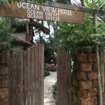 Entrance to Ocean View House