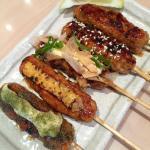 Yummy chicken tsukune