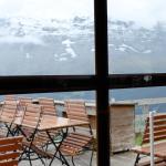 Vue sur la face nord de l'Eiger, si le temps le permet...