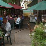 patio patrons