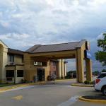 Comfort Inn Boonville, MO outside entrance