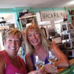 Having great times with Megan. Best wine bar on island. Good coffee, bagels, cheese, and wine. Y