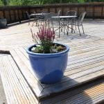 The Spa deck