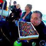 Celebrating a birthday on the boat