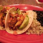 Fish Tacos with Cilantro Rice & Black Beans