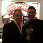 Actor Gianni Russo from the God Father had a nice little luncheon with us