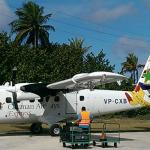 Puddle Jumper to get there from Grand Cayman