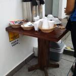 Chá e cafezinho sempre disponíveis