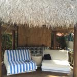 Cute cabana at the pool - with drink service