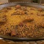 Arroz del restaurante Mezquida