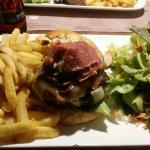 Caramelised Onion Burger