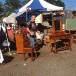 Michael and his vintage/antique/retro items