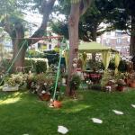 very nice garden