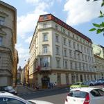 front side of the Chopin Hotel Prague City