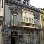 Fachada del Hotel Villa de Luarca