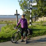 At the start of Hadrian's Cyclepath