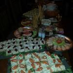 One of our buffets....We can cater for a function up to 40 people