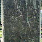 Il bassorilievo in bronzo