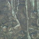 Particolare del bassorilievo