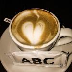De koffie in het hotel