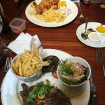 Good Selection Of Typical English Foods
