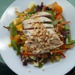 Paradise Chicken Salad with fresh mango