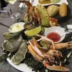 Le plateau de fruit de mer