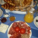 Desayuno muy bueno