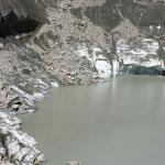Lago Combal a fine agosto