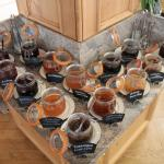 Jam selection from Engadinerhof's breakfast