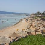 spiaggia del resort