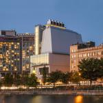 The Whitney Museum as seen from the Hudson River piers. Photo by Karin Jobst.