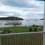 View from Room 105 Bar Harbor Inn