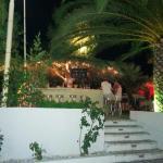 Il bar in piscina