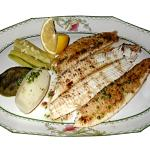 Dover Sole served...