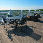 All guests enjoy access to our rooftop Cupola Deck with stunning views of Vineyard Haven Harbor