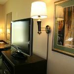 Flat-Screen TV in Double Queen Room