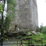 The castle and my bicycle