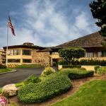 Our Hotel Sits Among the Scenic Monterey Pines