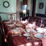 Fall dining.