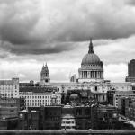 view from the restaurant at the Tate Modern