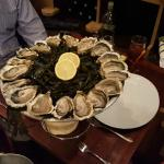 Oyster for two, nine each