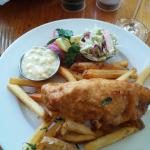 Fish & Chips Special for Lunch