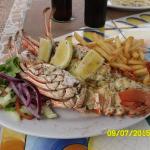 Almalfi's Lobster & mushrooms