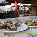 Almalfi's oysters - natural & Kilpatrick