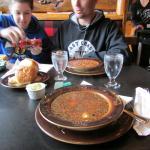 Bison soup and bison chili