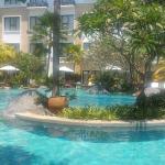Beach wing pool