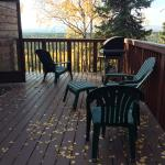 Balcony - Healy Heights Family Cabins Photo